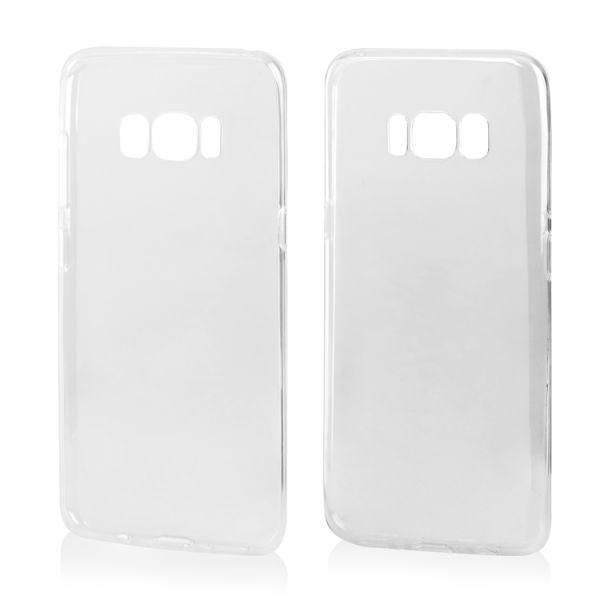 Schutzhülle Transparent für Samsung S8 Plus